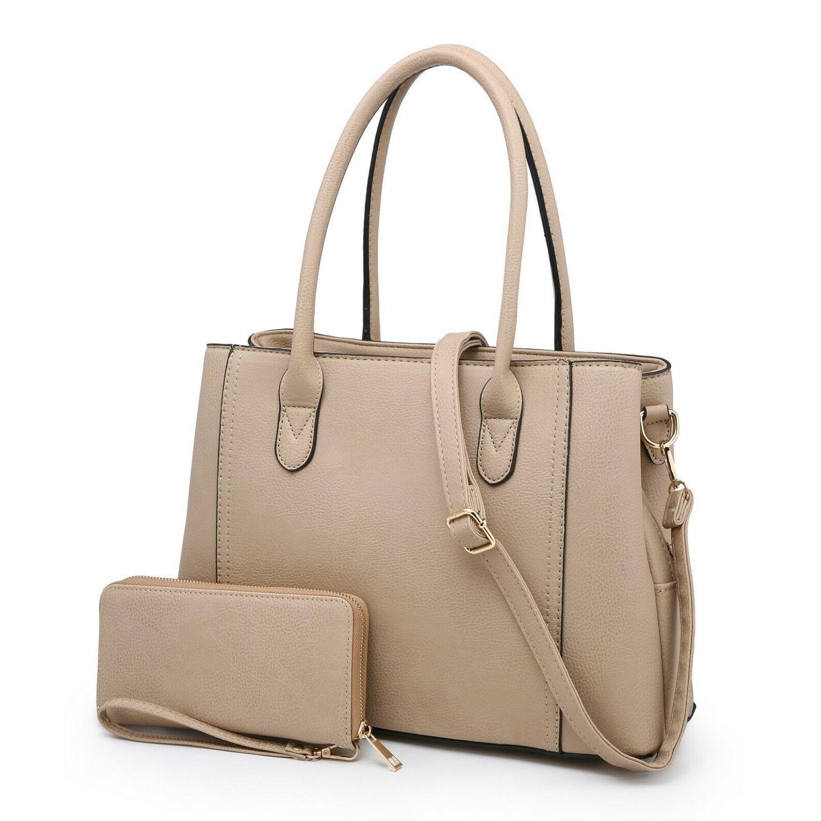 women s satchel handbag purse faux leather