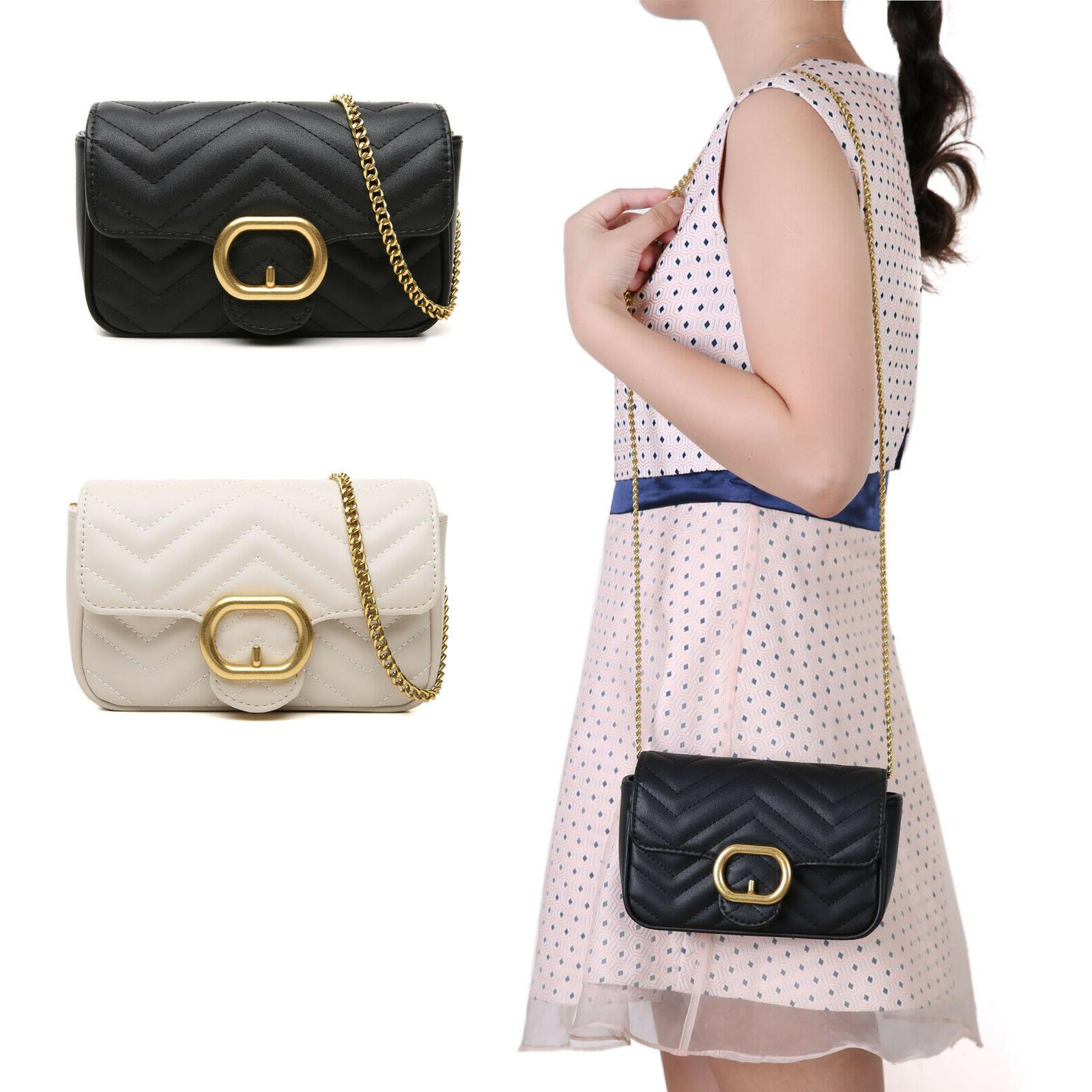 women s shoulder handbag quilted crossbody bag