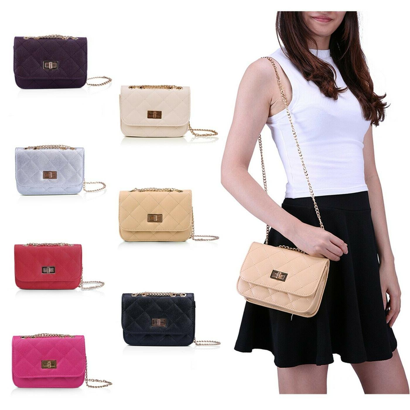 women s small crossbody handbag quilted purse