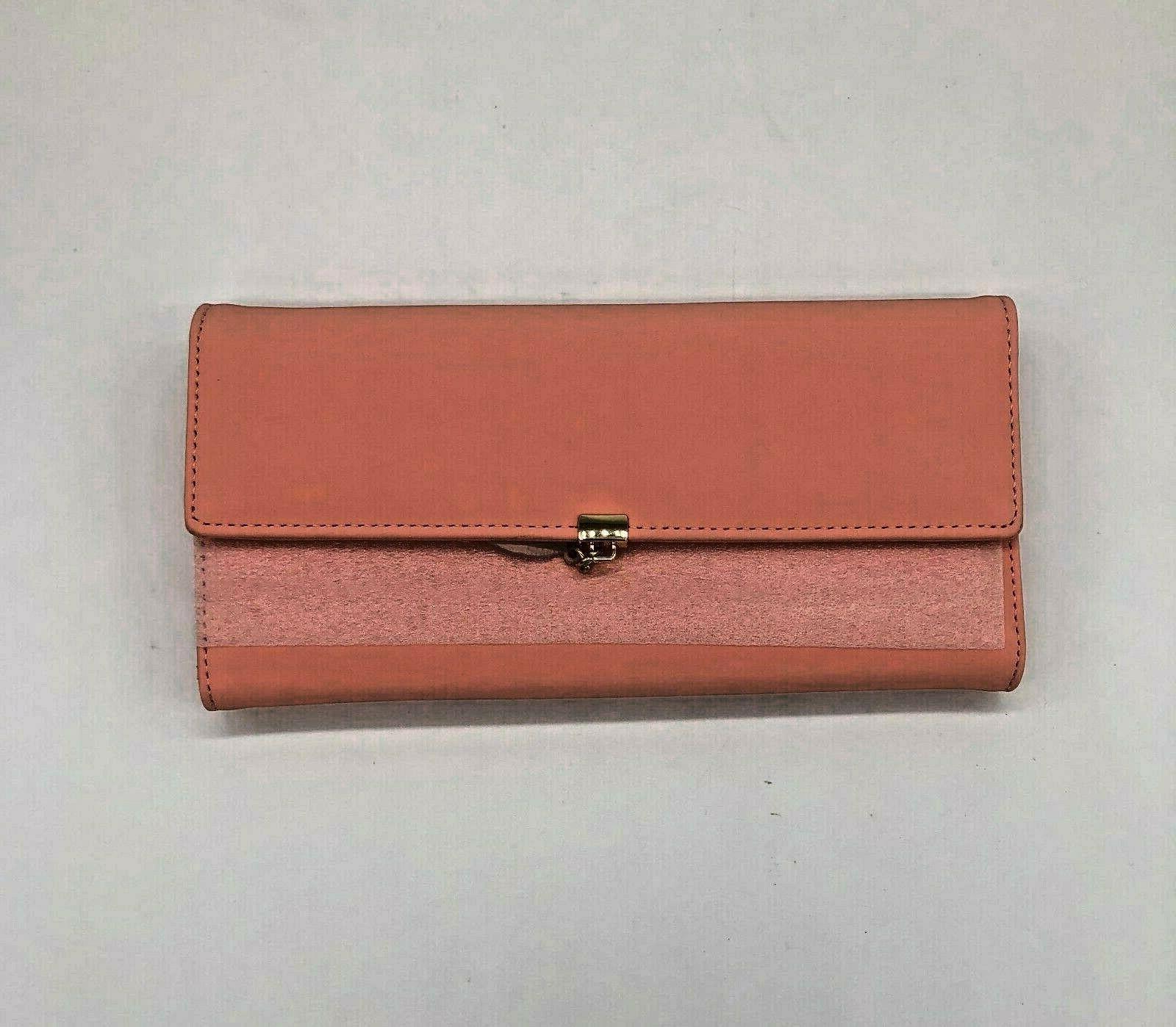 women s wallet faux leather rfid blocking