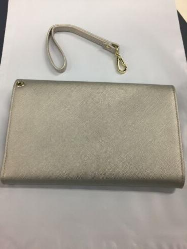 Travelambo Women's RFID Blocking Case silver