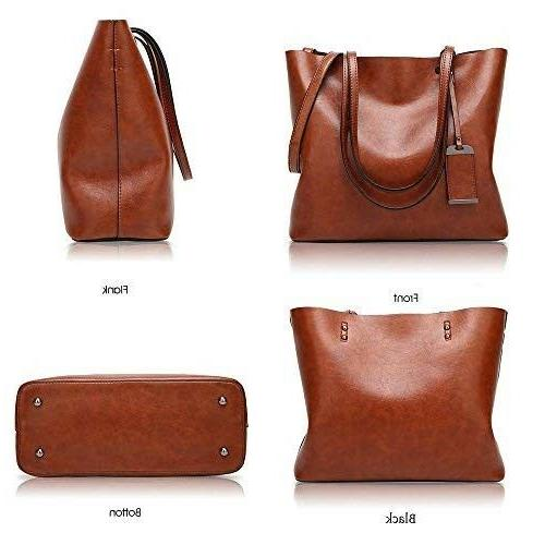 ALARION Satchel Shoulder Bag Messenger Tote Purse