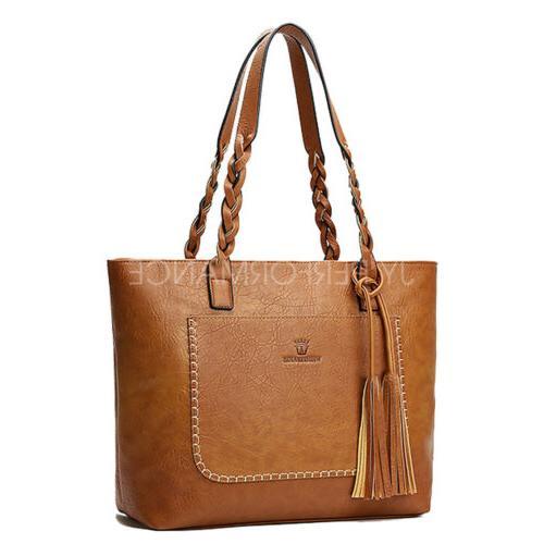 Women Tote Bag Bags Shoulder Hobo Purse Messenger 87