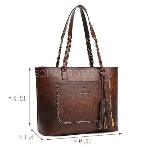 Women Bag Leather Bags Shoulder Hobo Purse