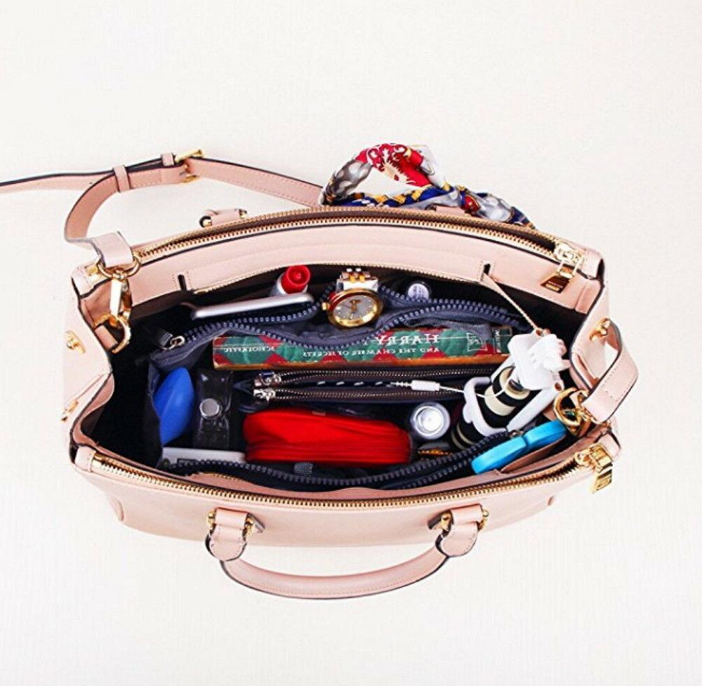 Women Insert Organizer Purse Large Liner Organizer Tidy Bag New