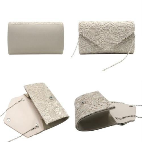 Womens Elegant Envelope Clutches Evening Purses