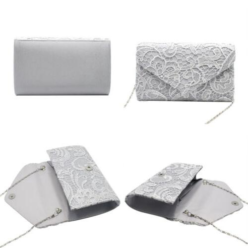 Womens Elegant Floral Envelope Evening Purses