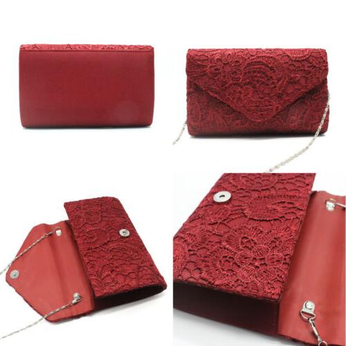 Womens Elegant Envelope Evening