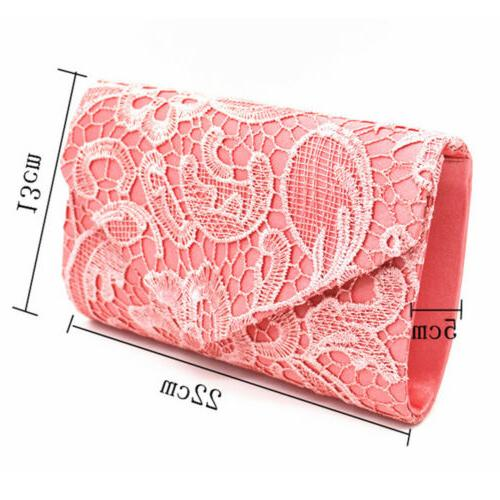 Womens Floral Envelope Evening Purses