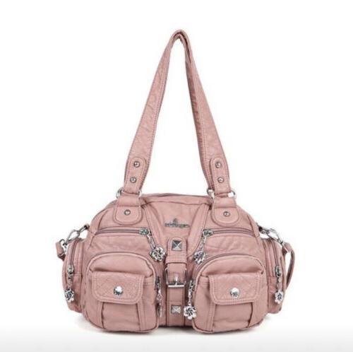 Women's Genuine Capacity Purse Shoulder Bag
