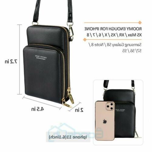 Womens Crossbody Bag Cell Phone Bag