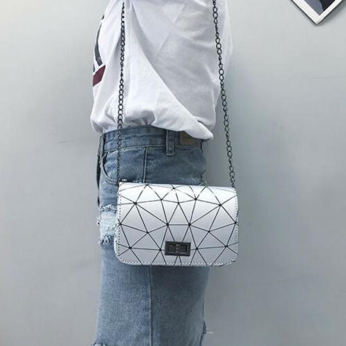 Womens Ladies Cross Body Side Bag Purse