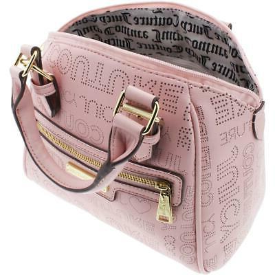 Juicy Couture Pink Satchel Handbag Purse BHFO
