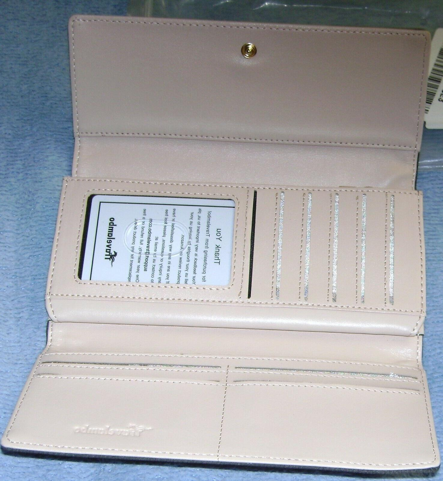 Travelambo Leather RFID Credit