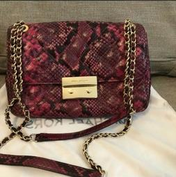 MICHAEL Kors L Sloan Quilted Leather Hobo Shoulder Purse Pin