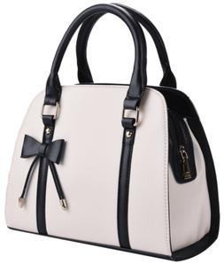 COOFIT Lady Handbag Little Bow Leisure Top-Handle Bags Shoul