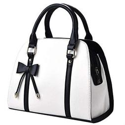COOFIT Lady Handbag Little Bow Leisure TopHandle Bags Should