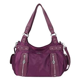 Large Purses Handbags Women Ultra Soft Washed Faux Leather C