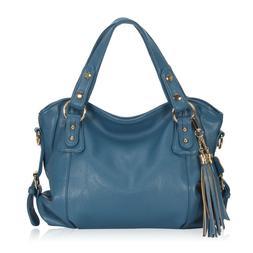 Large Slouchy Handbags Vegan Leather Purse Shoulder Vintage