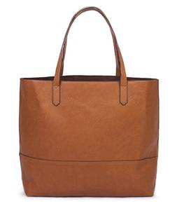 Overbrooke Large Vegan Leather Tote - Womens Slouchy Shoulde
