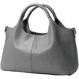 Leather Crossbody Bags Tote Small Genuine Purse Handbag Shou
