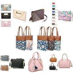 Aitbags Leather Handbag for women Satchel Purse Crossbody Ba