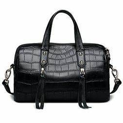 ZOOLER GLOBAL Leather Handbags for Women Crossbody Bags Larg