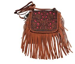 Montana West Leather Purse Power Bank Western Country Fringe