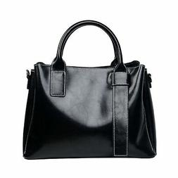 Genuine Leather Satchel Purses and Handbags for Women Should