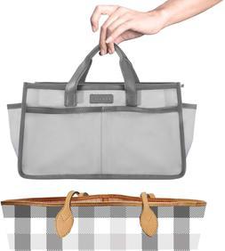 Chiceco Lightweight Purse Organizer Insert Nylon Handbag Org
