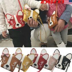 Little Girls Purse Cute Leather Crossbody Bag Mini Shoulder