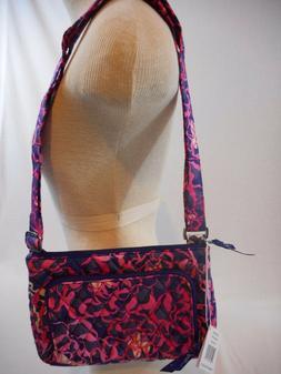 Vera Bradley Little Hipster Crossbody Xbody Shoulder Bag Pur