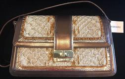 maria honey carlisle genuine leather purse new