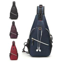 Men/Women Chest Cycle Sling Bag Crossbody Shoulder Daily Tra
