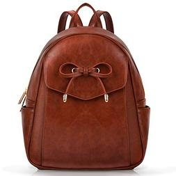 Mini Backpack, COOFIT Leather Backpack Purse Fashion Mini Da