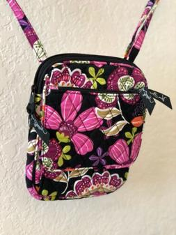 Vera Bradley Mini Hipster Pirouette Pink CrossBody Shoulder