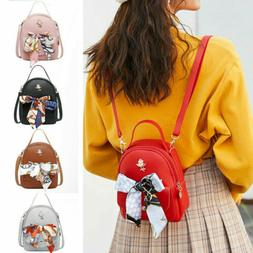 Mini Leather Backpack Purse Small Backpack Shoulder Rucksack