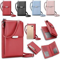 Mini Phone Crossbody Bags Phone Handbags Leather Purses Card