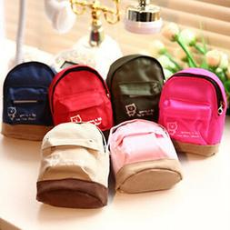 Mini Small Cute Women Lady Girl Pouch Coin Purse Backpack Ca