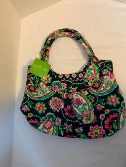Vera Bradley Girl's Mini Tote Bag, Mini Pleated Shoulder Bag