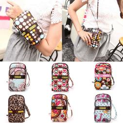 Multi-color Small Cross Body Purse for Women Girls Cute Cell