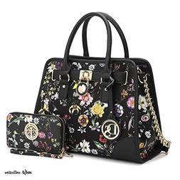 Multi Pockets Satchel for Women Designer Lady Spring Handbag