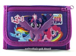 My Little Pony Kids Wallet Girls Toddlers Coin Zip Pocket Ph