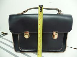 Mark and Graham Navy Blue Academy Messenger Purse Handbag Ba