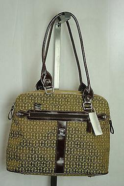 NEW $128  GIANI BERNINI womans medium Brown purse designer h