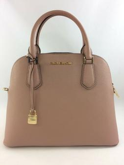 New Authentic Michael Kors Adele Large Dome Satchel Handbag
