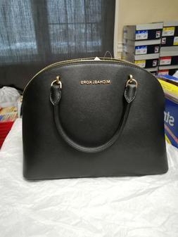 New Authentic Michael Kors Emmy Leather Large Dome Satchel H