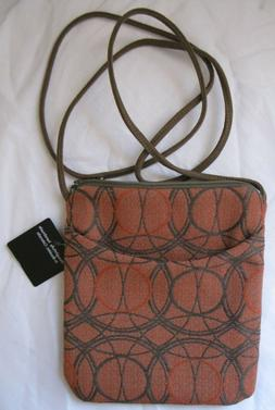 New Maruca Boulder Colorado Purse Crossbody Orange Geometric