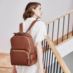 *New* BOSTANTEN Genuine Leather Backpack Purse for Women Tra