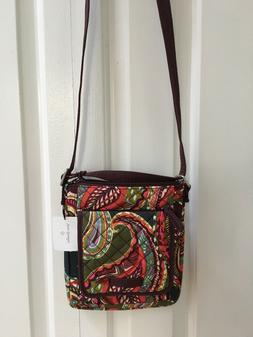 New Vera Bradley purse  crossbody Hadley multicolor small